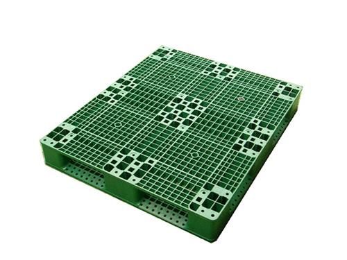塑膠棧板    AD4 型  單面田字型四方插網面棧板