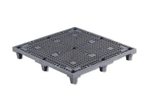 塑膠棧板    K-L(輕載型)/K-H(重載型)單面四方插網面經濟套疊型棧板