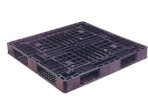塑膠棧板   SD型 單面田字型四方插網面經濟型棧板