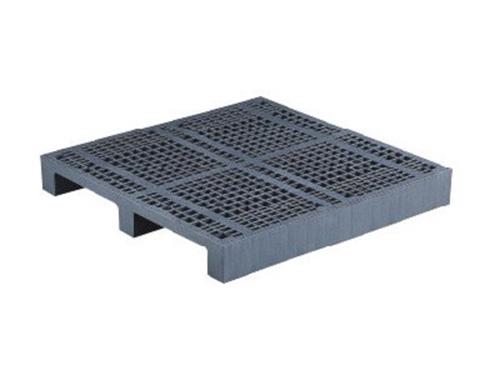 塑膠棧板    P型 單面川字型二方插網面棧板
