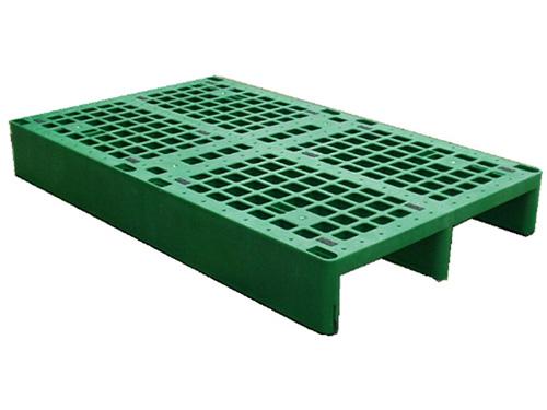 塑膠棧板  EP型 單面二方插網面棧板