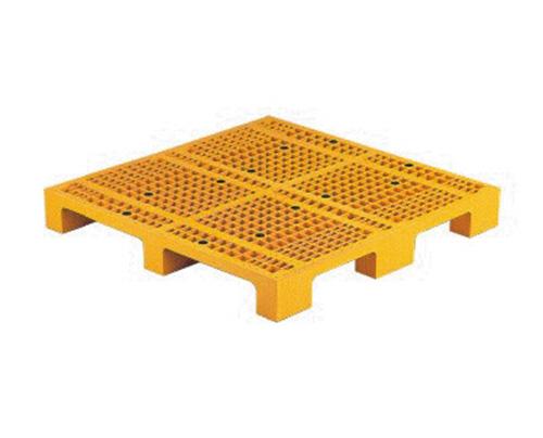 塑膠棧板    N型 單面四方插網面棧板