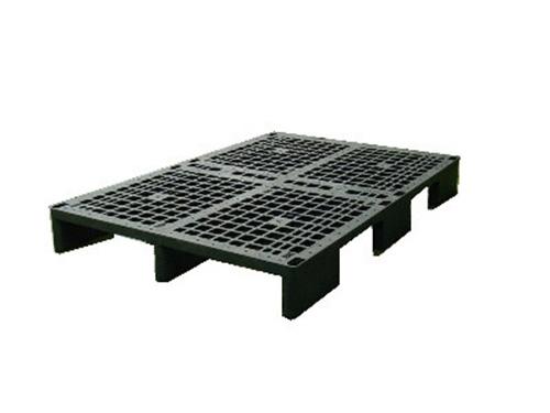 塑膠棧板    EN型 單面四方插網面棧板